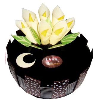 欧式巧克力蛋糕/情深意长